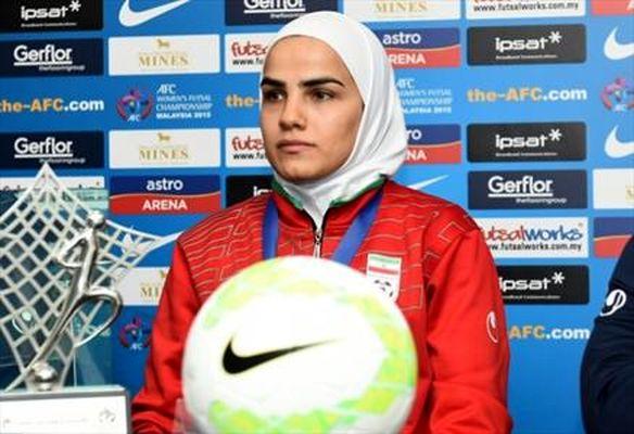 طعنه خانم فوتبالیست به منصوریان