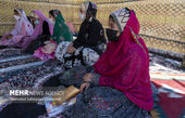 لباس های رنگی و شاد دانش آموزان روستایی + تصاویر