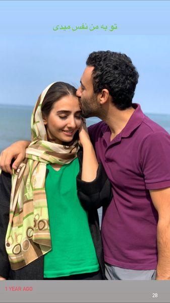 بوسه زوج بازیگر معروف + عکس