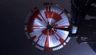 پیام ناسا در چتر نجات استقامت فاش شد