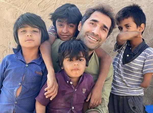 بچه های دوست داشتنی هادی کاظمی + عکس