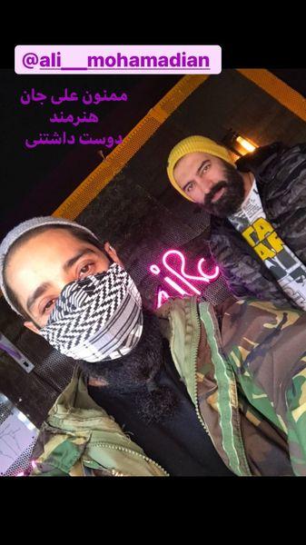 دوست هنرمند مجید صالحی + عکس
