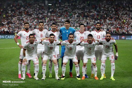 صعود 7 پلهای تیمملی فوتبال ایران در تازهترین ردهبندی فیفا