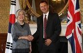 دیدار وزیر خارجه کره جنوبی با همتای انگلیسی