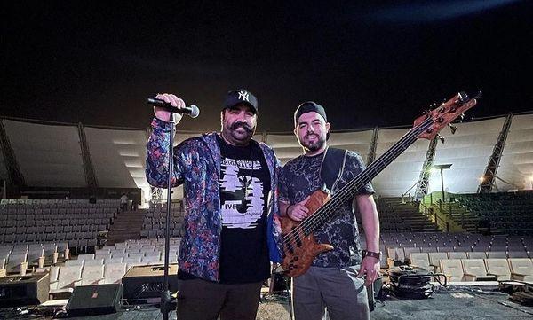 کنسرت بهنام بانی در کیش + عکس