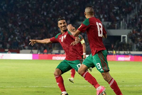 پنج بازیکن تیم ملی فوتبال مراکش هلندی هستند