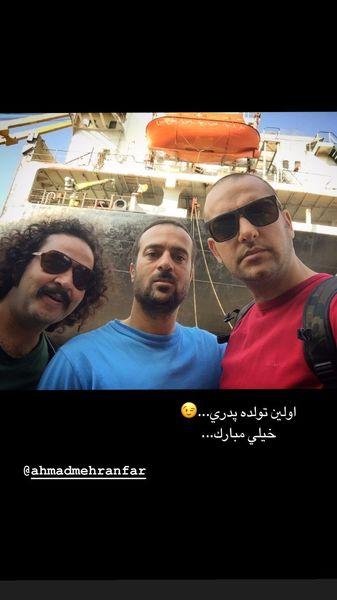 خاطره بازی حامد کمیلی با احمد مهرانفر + عکس