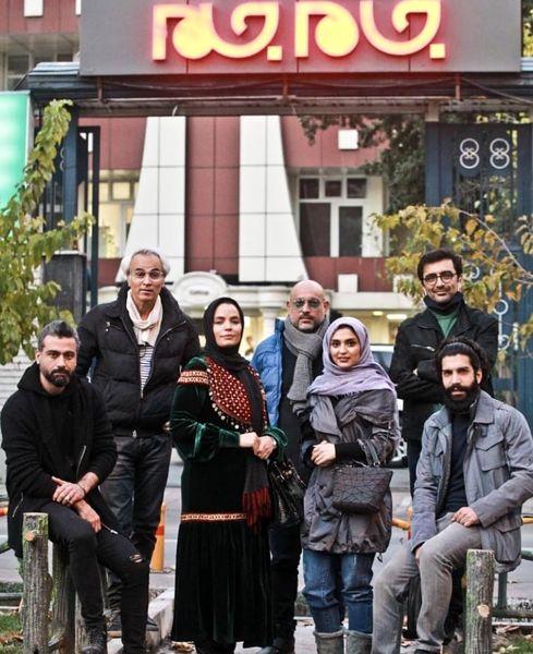 بازیگران خانه امن در شبکه جامجم + عکس