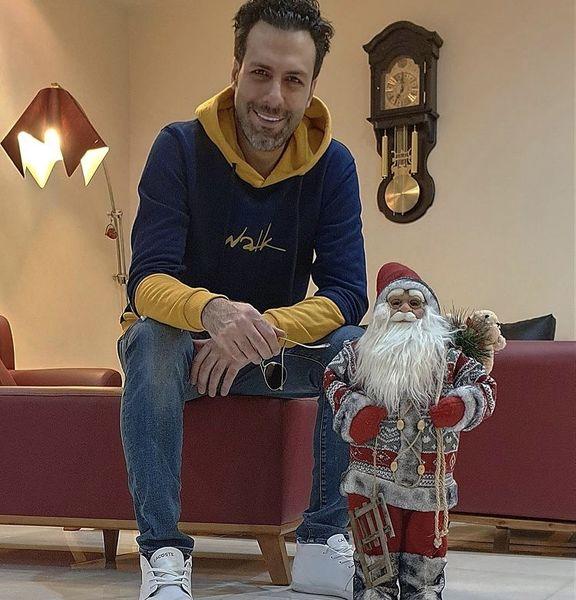 بابانوئل زیبای مجید واشقانی + عکس