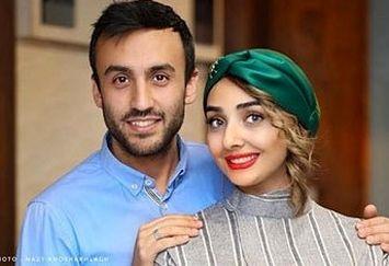 ازدواج پسر فاطمه گودرزی با یک بازیگر+عکس