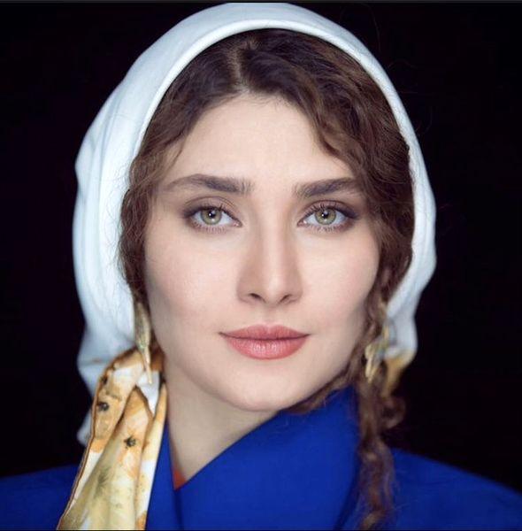 چهره ساده ساناز سعیدی + عکس