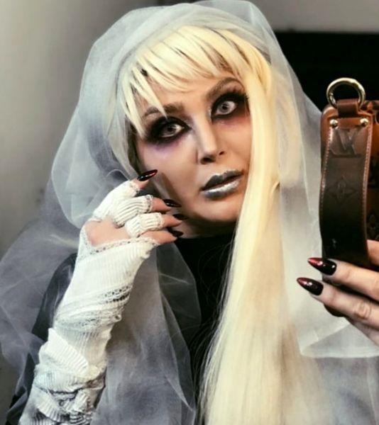 عکس جادوگری و ترسناک مریم معصومی