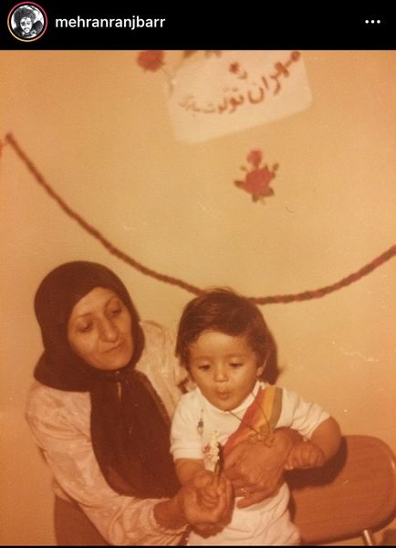 تولد 3 سالگی مهران رنجبر + عکس