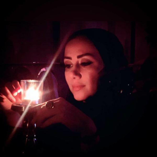 خانم مجری در شب قدر
