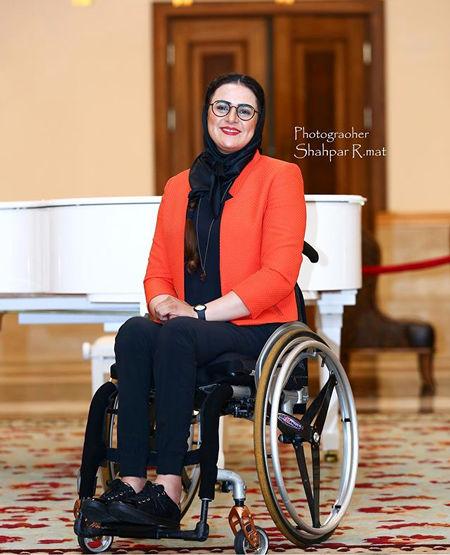 خانم کماندار معروف کشور در کیش+عکس