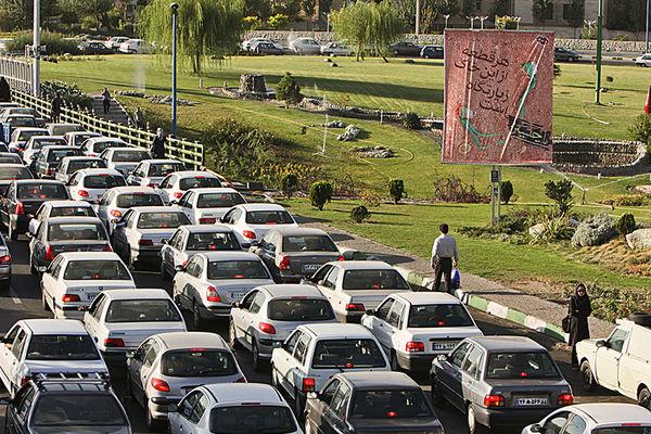 ترافیک نیمه سنگین در آزادراه کرج و قزوین