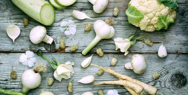 پنج سبزی سفید رنگ را بیشتر از همیشه مصرف کنید