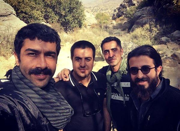 حسین مهری با دوستانکار جدیدش + عکس