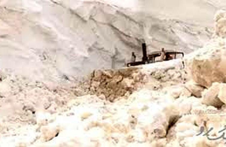 ارتفاع ۸ متری برف در استان کهگیلویه و بویراحمد