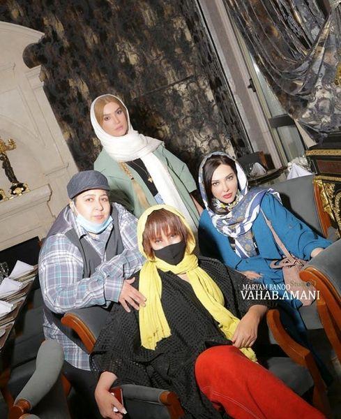 شهره لرستانی و دوستانش + عکس