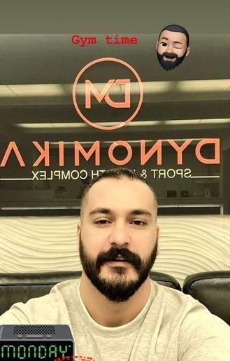 میلاد کی مرام در باشگاه لاکچری اش+عکس