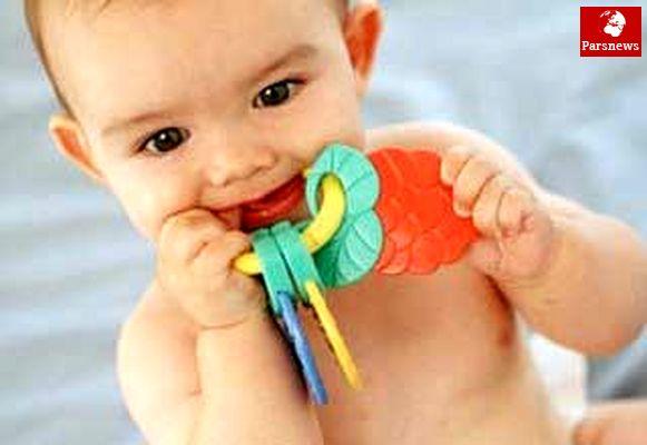 کاهش درد دندان درآوردن کودکان