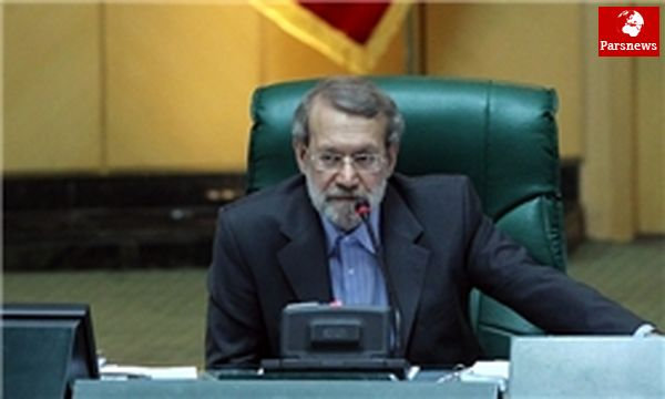 لاریجانی: اگر بررسی برنامه تمام نشود مجلس فردا جلسه دارد