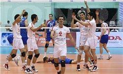اولین پیروزی ایران در لیگ جهانی والیبال