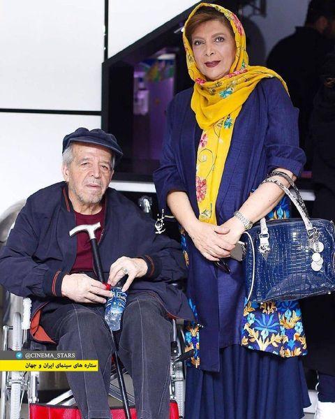 عکس از زوج بازیگر عاشق و الگو