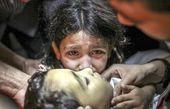 افزایش کودکان شهید شده در حملات صهیونیستها به غزه