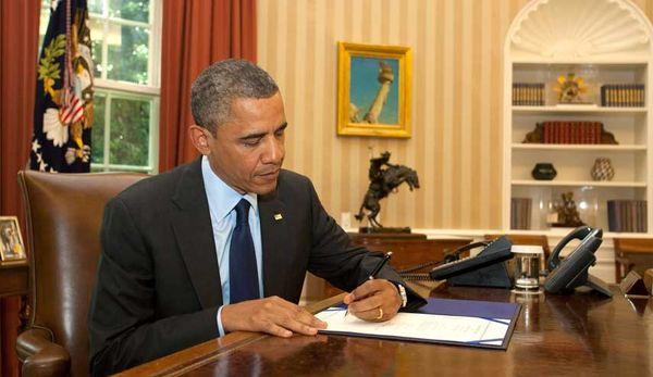 اوباما لایحه بودجه نظامی آمریکا را امضا کرد
