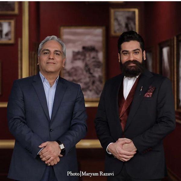 علی زند وکیلی میهمان دورهمی شد + عکس