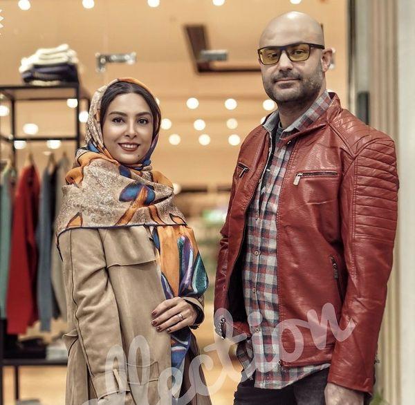 تیپ مدلینگی حدیثه تهرانی با همسرش + عکس