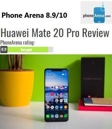 استقبال رسانههای معتبر دنیا در بررسی Huawei mate 20