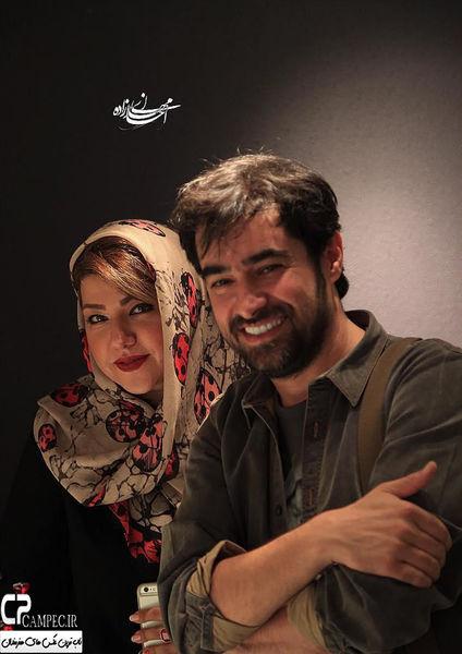 عکسی زیبا از شهاب حسینی و همسرش