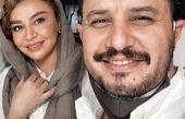 سلفی جدید جواد عزتی با همسرش + عکس