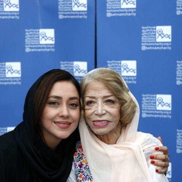 بهاره کیان افشار در آغوش هنرمند مردمی+عکس