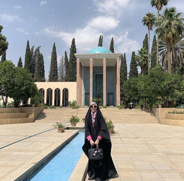 مژده لواسانی در شیراز + عکس