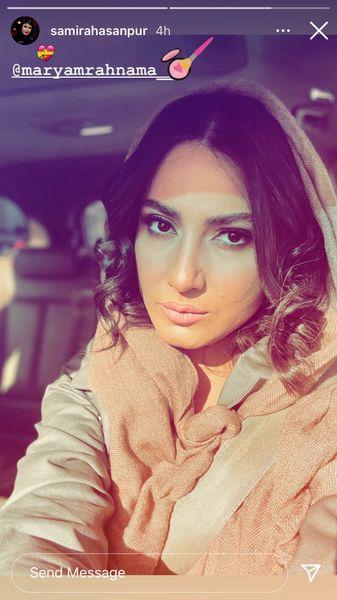 ظاهر جدید سمیرا حسن پور + عکس