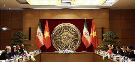 لاریجانی: سطح روابط تجاری بین ایران و ویتنام افزایش یابد