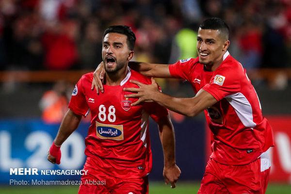دو بازیکن پرسپولیس در جمع برترینهای هفته لیگ قهرمانان آسیا