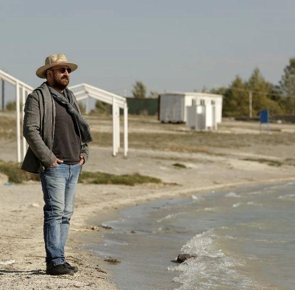 تیپ تگزاسی مهران احمدی لب ساحل + عکس