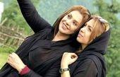 نسرین مقانلو و خواهرش + عکس