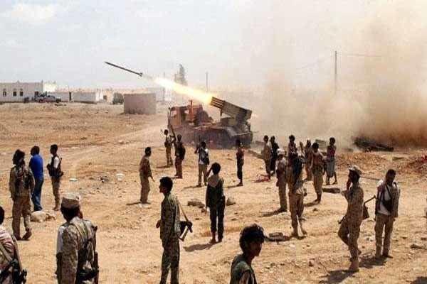انهدام جنگنده سعودی توسط ارتش یمن