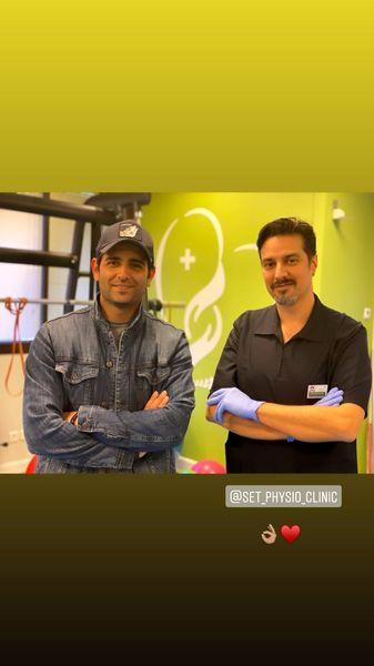 پزشک شخصی امیرحسین آرمان + عکس