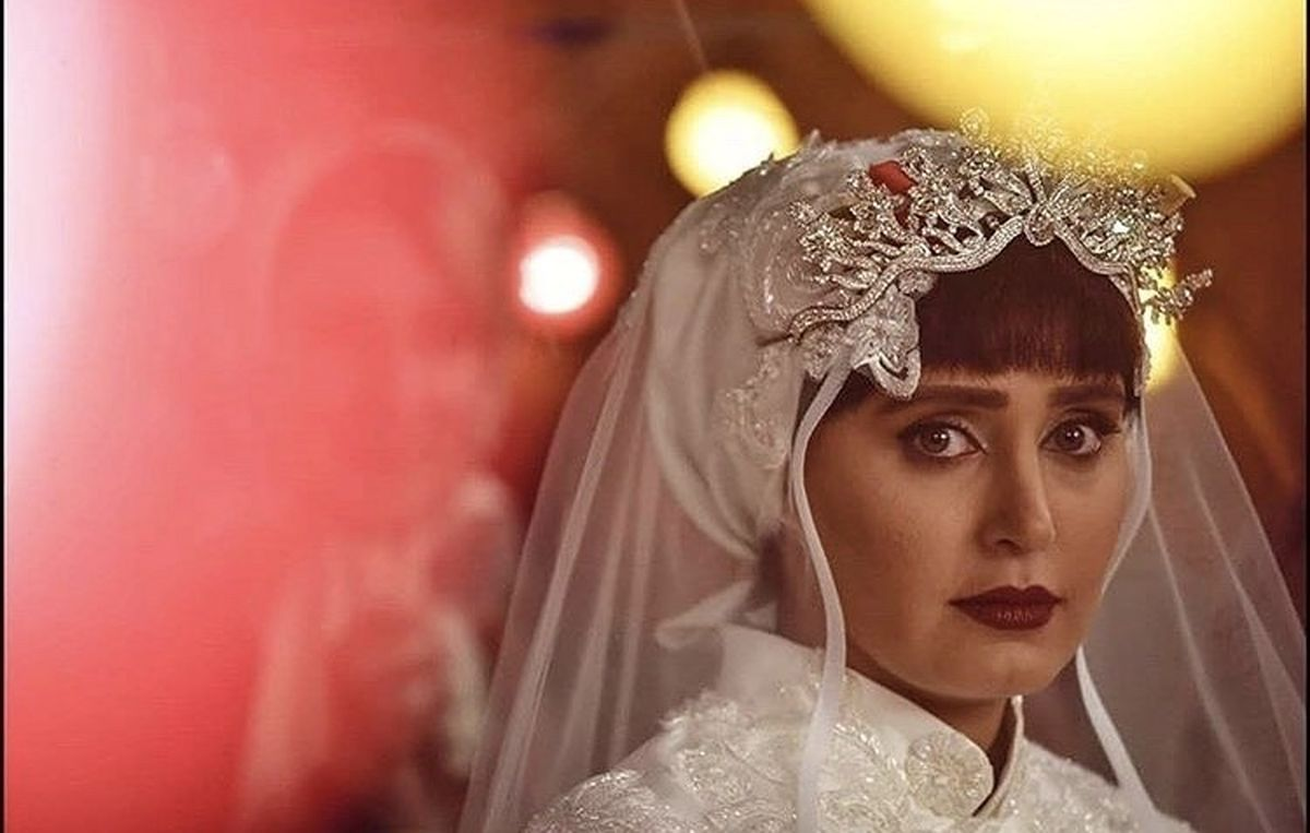 الناز شاکردوست در لباس عروس + عکس