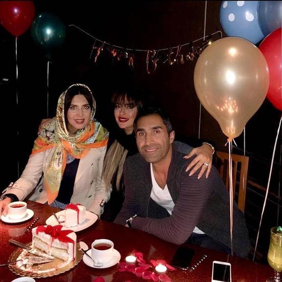 زوج جدید سینمای ایران در یک جشن خصوصی
