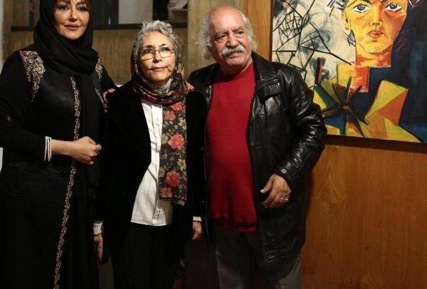 شقایق فراهانی و پدر و مادر بازیگرش+عکس