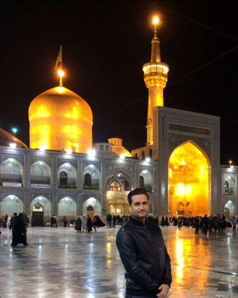 بازیگر خط قرمز مهمان امام مهربانی ها شد+عکس