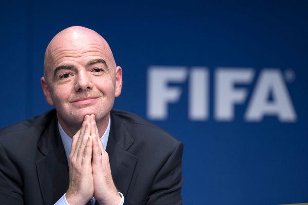 رئیس فدراسیون جهانی فوتبال کرونا گرفت